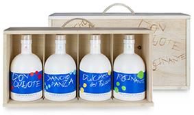 Gama Monovarietales Botella - Aceites Puerto la Fuente